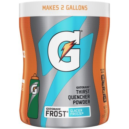 Gatorade Thirst Quencher Powder Drink Mix- Glacier Freeze 521g