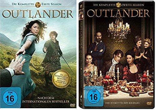 Outlander - Staffel/Season 1+2 * DVD Set * Alle Folgen der 1.und 2.Staffel