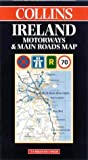 Cover of: Ireland Motorways and Main Roads Map | Harper Collins Publishers
