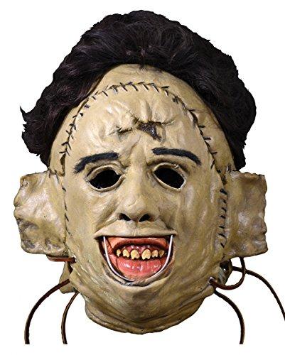 Texas Chainsaw Massacre Killermaske 1974 für (Halloween Maske Leatherface)