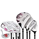 KOALA Golf Clubs Set for Women Complete Lady Ex-200, Right Hand Includes 11Pieces