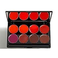 Mehron L.I.P Color Cream Palette 8-Night, 48 g