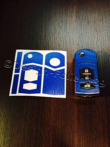 carbon-film-bleu-motif-geburstert-schlusseldekor-cover-pour-mazda-rx8-nc-2-3-5-6-mx5-sl-cx-cx-7-9