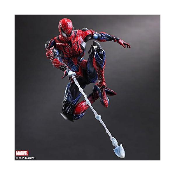 Square Enix Spiderman Marvel Universe Play Arts Kai Figura de acción 5