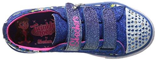 Skechers ShufflesGlitter N Glitz Mädchen Sneakers Blau (Bleu)