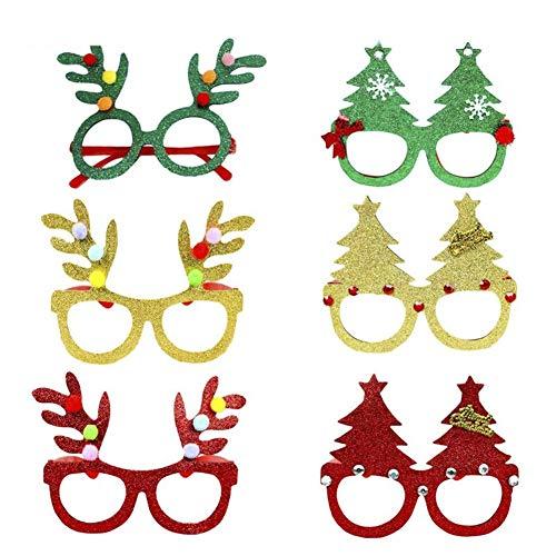 Für Erwachsene Kostüm Weihnachtsbaum - sal008ly7far Kostüm Brillen 1 para Weihnachtsbaum Gläser Weihnachten Party Cosplay Liefert Erwachsene Kinder Favor Geschenk Zufälliger Stil