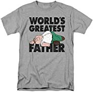 Family Guy Peter The Greatest Father Funny T Shirt & Stic