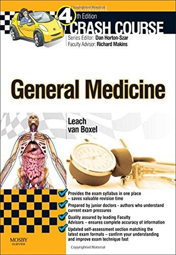 Crash Course General Medicine, 4e