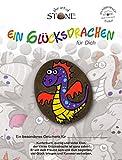 The Art of Stone EIN Glücksdrachen für Dich - Motiv 08 Handbemalter Naturstein Unikat Glücksbringer