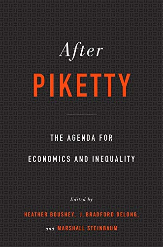 After Piketty – The Agenda for Economics and Inequality