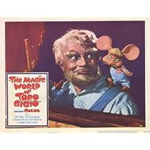 The Magic World of Topo Gigio Poster (11 x 14 Inches - 28cm x 36cm) (1965) Style F