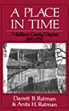 Place In Time V1: Middlesex County, Virginia 1650-1750