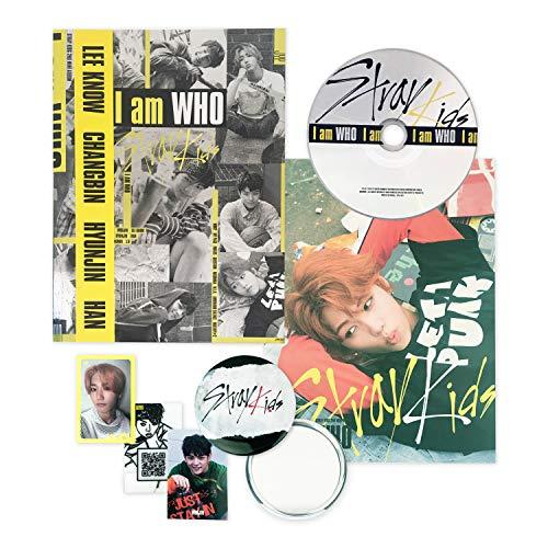 STRAY KIDS 2nd Mini Album - I am who [ I AM Ver  ] CD +