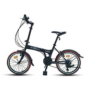 """ECOSMO 20""""a estrenar Plegable Ciudad Bicicleta 21SP - 20F03BL"""