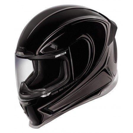 Icon–Integral Helmet Halo Black 55/56s-0101-8718