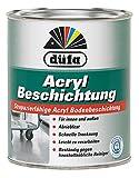 Düfa Acryl Beschichtung Bodenbeschichtung Bodenfarbe Seidenglänzend 0,75 ml , Farbe (RAL):RAL 6011 Resedagrün