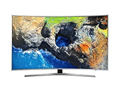 Idea Regalo - Samsung Serie 6 Mu6500 TV UHD 4K Curvo Smart 55''