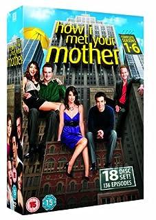 How I Met Your Mother - Season 1-6 [DVD] (B0058TSMBW) | Amazon price tracker / tracking, Amazon price history charts, Amazon price watches, Amazon price drop alerts