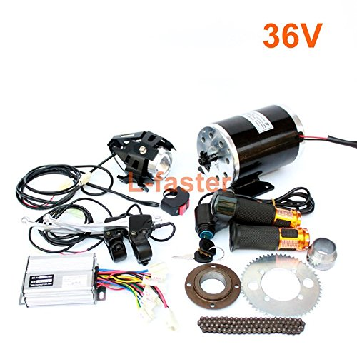 1000W Electric Motorcycle Motor Kit Changing Gas ATV To Electric ATV DIY Electric 4-wheel Child Vehicle Electric Scooter Engine (36V twist kit)