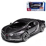 alles-meine GmbH Bugatti Chiron Coupe Grau Ab 2016 1/43 Bburago Modell Auto