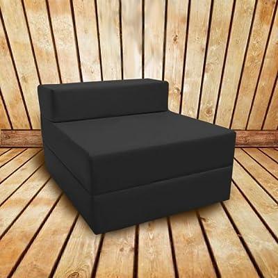 Shopisfy Kinder Einzel Schaumstoff Stuhl Bett/ Matratze Ausfaltbar Sauber Wischbar