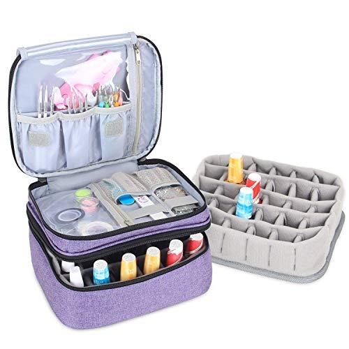 Luxja organizador de esmaltes de uñas