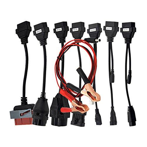 ds150 delphi Wandeli 8Auto Kabel OBD Kit für Delphi Autocom VCI TCS OBD2, Set OBD Diagnose Adapter Kabel Set für Cars Delphi Autocom CDP
