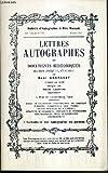 CATALOGUES DE VENTES AUX ENCHERES - BULLETIN D'AUTOGRAPHES A PRIX MARQUES - N°791 - FEVRIER 1988 - LETTRES AUTOGRAPHES ET DOCUMENTS HISTORIQUES.