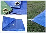 Waterproof Tarpaulin Ground Sheet Lightweight Camping Cover Extra Value Tarp 3x7