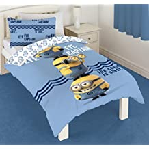 Minions Eye ojo Capitán solo Panel funda nórdica cama conjunto