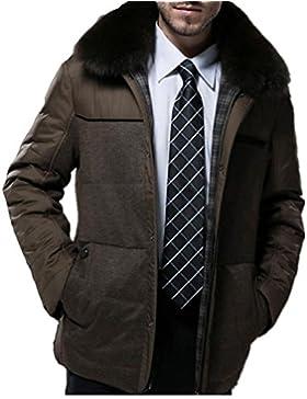 Por la chaqueta chaqueta caliente chaquetas de invierno Nueva Ropa de Hombre , khaki , l