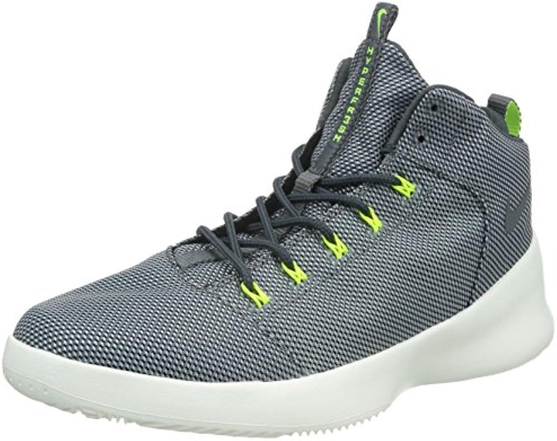 Zapatillas de baloncesto / gris oscuro / negro / voltio Hyperfr3sh lobo gris 10 con nosotros  -