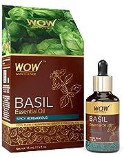 WOW Skin Science Basil Essential Oil 15 mL