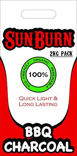 SunBurn Coconut Charcoal Briquette (Charcoal)