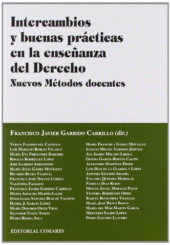Intercambios Y Buenas Prácticas En La Enseñanza Del Derecho (Derecho Procesal)
