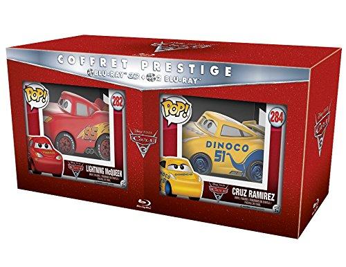 COFFRET PRESTIGE BD 3D+2D CARS 3 + FIGURINES AMAZON [Blu-ray]
