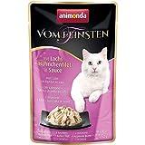Animonda Katze Vom Feinsten mit Lachs + Hühnchenfilet in Sauce 50g Größe 18 x 50g