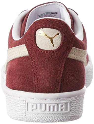 Puma Herren Suede Classic+ Low-Top, 42 EU Rot