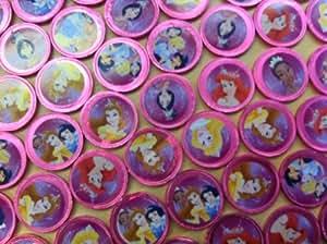 Milk Chocolate 38mm Disney Princess Coins (pack of 10)