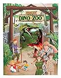 Depesche 10370 - Malbuch mit Stickern, Create your Dino Zoo
