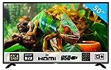 HKC 50F1 127 cm (50 Pouces) LED Smart TV téléviseur (Ultra Haute Définition 4K,...