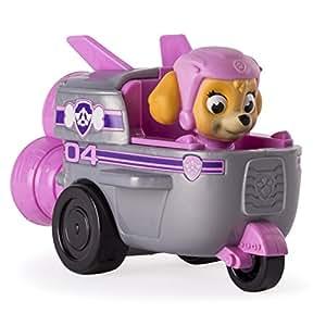 paw patrol racers stella mini v hicule de la pat 39 patrouille 9 cm jeux et jouets. Black Bedroom Furniture Sets. Home Design Ideas