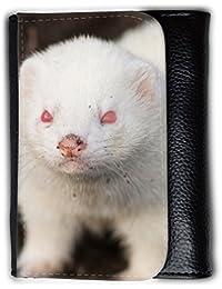 le portefeuille de grands luxe femmes avec beaucoup de compartiments // V00002853 hurón albino // Medium Size Wallet