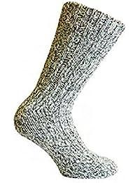 4 Paar dicke warme Herren Wollsocken farbig gemischt von Art of Baan®