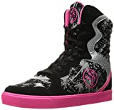 Best Shoes For Zumba - Zumba Women's Street Elevate Walking Shoe, Black/Pink, 5 Review
