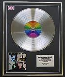 Everythingcollectible U2/Limitierte Edition Platin Schallplatte/Pop
