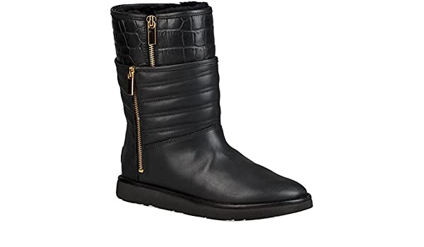 f97ced90d84 UGG Womens Aviva Boot Black Size 7: Amazon.co.uk: Shoes & Bags
