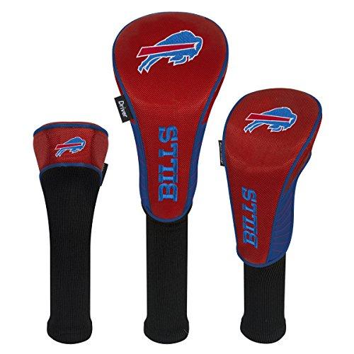 NFL Schlägerhauben Set, 3 Stück, NFL Buffalo Bills Set of Three Headcovers -