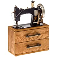 Máquina de coser sin función decoración alhajero modelo estilo antiguo