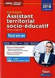 Concours Assistant territorial socio-éducatif - Catégorie B - Tout-en-un - Concours 2018